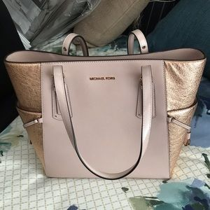 8b464dc40bf Michael Kors- Voyager East West Signature Tote